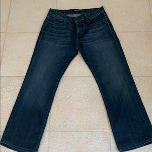 Fidelity jeans dark blue 34x31